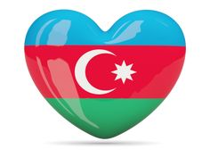 Heart icon. Download flag icon of Azerbaijan at PNG format