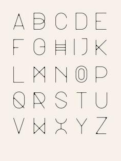 minimal line alphabet Calligraphy Fonts, Typography Letters, Typography Logo, Graphic Design Typography, Fun Fonts Alphabet, Script Fonts, Handwriting Fonts Alphabet, Penmanship, Monogram Fonts