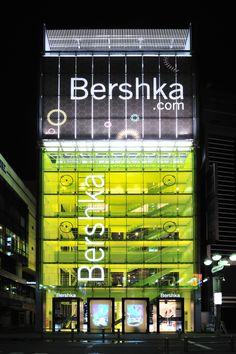 Shibuya, Tokyo's   Bershka.