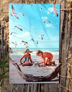 Outer Banks vintage postcard