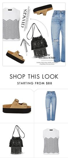 """""""polycool"""" by namelif1 ❤ liked on Polyvore featuring Jeffrey Campbell, Frame Denim, Yves Saint Laurent, Rossella Jardini, denim and polyvoreeditorial"""