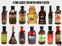 14 BBQ Sauces you Never Knew Existed via @Cool Material