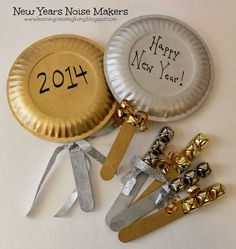 Learning Creating Living: New Years Noise Makers