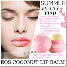 Untitled #674 by cly88 on Polyvore featuring beauty, Eos, Summer, BeautyTrend and lipbalm