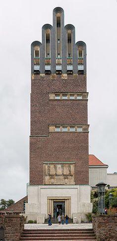 Wedding Tower (Hochzeitsturm), Mathildenhöhe, Darmstadt, Germany