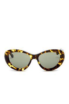 53e857c7814 Isaac Mizrahi Women s Cat Eye Plastic Sunglasses
