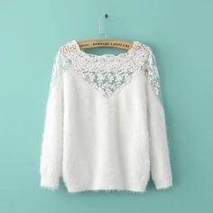 Kode : WST 11570 Crochet Full Sweater (White) Excellent Quality Fabric CrochetFur Knitted Medium Elasticity Bust 90-110 Sleeve 45 Length 60 Price : 180000 Mohon sertakan kode saat bertanya #westernclothing #bajuimport #bajuimportmurah #jualbajuimport #excellentqualitydress #jualankaka #kekinian #ootd #ootdindo #ootdindonesia #lookbookindonesia #flareskirt #flareskirtmurah #rokflare #rokmurah #midiskirt #basicshirt #kemejamurah #kemeja #kemejaputih #importdress #dress #dressmurah…