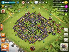 FreeAppsKing Clash Of Clans Village - Level 74