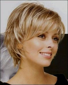 Short hair for a round faceShort hair for a round face - - for face hair short roundNagelDesign Elegant (Coupe cheveux femme 50 an .) cheveux coupe elegant f . Short Shag Hairstyles, Short Hairstyles For Women, Short Haircuts, Layered Haircuts, Edgy Medium Hairstyles, Layered Hairstyle, Woman Hairstyles, Hairstyle Short, Trendy Hairstyles