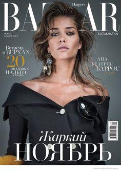 Ana Beatriz Barros Wears Fall Looks for Bazaar Kazakhstan by Sy Delorme EYEBROWS