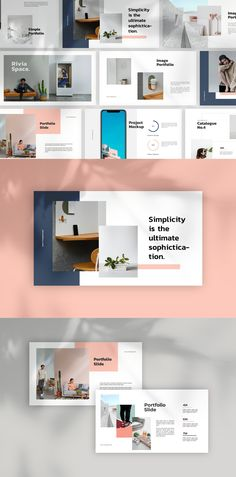 Rivia Powerpoint Template --- - 50 Unique Slides - 16 : 9 HD Widescreen - PPTX - All text are editable with text tool - Free font used - Image Placeholder Ready Free Keynote Template, Envato Elements, Text Tool, Corporate Flyer, Powerpoint Presentation Templates, Print Templates, Presentation Design, Behance, Card Templates Printable
