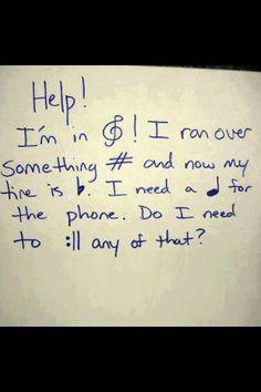 Music pun