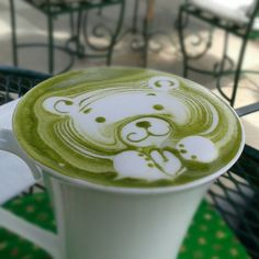 This is what im craving for rite now :( #matcha #greentea #latte