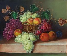 Resultado de imagen de bodegones con uvas