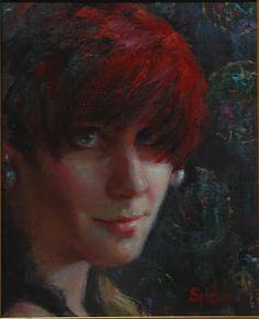 Los Angeles portrait artist Johanna Spinks http://www.johannaspinksfineart.com