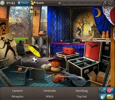 Halloween Hidden Object Games iphone screenshot 1 New Game Update And Beautiful Scene From Our Free Hidden Object Game Halloween