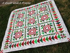 A Quilt and A Prayer: Christmas Geese - Miss Rosie pattern called Toulouse