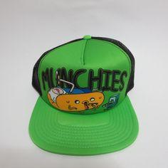 Adventure Time Jake and Finn Bioworld Green Munchies Snapback Hat  #Bioworld #BaseballCap