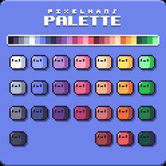 Medien-Tweets von ️️️️️️ (@pixelhans) | Twitter How To Pixel Art, Pantone Color Chart, Pixel Art Background, Sprites, Pixel Color, Pixel Characters, 8 Bit Art, Isometric Art, Pixel Design