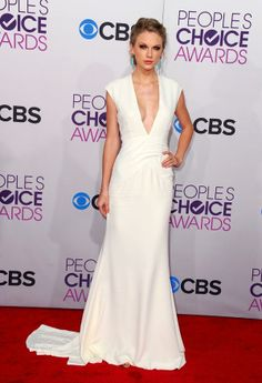 taylor swift white dress people's choice awards