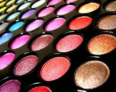 Eyeshadow    I dont really wear eyeshadow but ive got to admit that these colors are really pretty