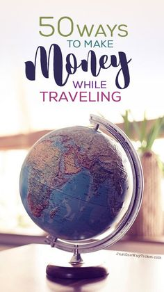 The Best Travel Jobs | 50 Ways To Make Money While Traveling The World | You want to work and travel? Pack your bags! Here is the most extensive list of the best traveling jobs in the world | Photo ©️ Melanie Mecking | Das Lichtmädchen | via /Just1WayTicket/
