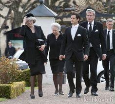 Sweden: Funeral of Count Carl Johan Bernadotte