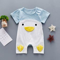 Tiny Duck Face Romper