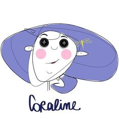 This is my Faccine for Coraline. I loved this movie!