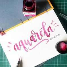 Estreando meu novo caderno da @miolitocadernos  #aquarela #miolitocadernos #brushpen #ecoline  #feitoamao #arte #compredequemfaz #santos #baixadasantista #handmade #moderncalligraphy #typespire #handlettering #lettering #letteringbr #typography #design #art #inspiration #typism #instagood #gratidao #work #poster #brushpen #brushlettering #motivation
