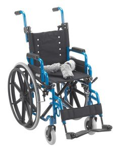 "Wallaby Pediatric Folding Wheelchair, 14"" Seat"