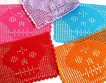 Ravelry: Papel Picado Filet Crochet Chart pattern by Michelle Moross