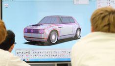 Honda Honda Design 第45回東京モーターショー2017 Honda Urban EV Concept Design Thinking Process, Design Process, Honda Element, Over The Years, Icon Design, Transportation, Automobile, Concept, Urban