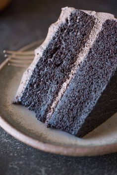 Dark Chocolate Cake With Whipped Cream Frosting