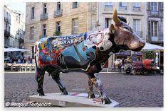 N°58 - Vach'Art - place Saint Pierre Artistes Collectif Bordeaux And Cow - Propriétaire SV Et CO