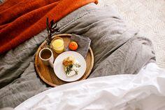 Enjoy breakfast from your favorite spot in the house, your Tempur-Pedic®. www.tempurpedic.com