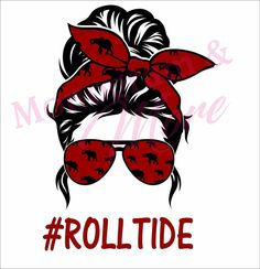 Alabama Crimson Tide Logo, Crimson Tide Football, Sublime Shirt, Football Design, Vinyl Shirts, Roll Tide, Messy Bun, Happy Mothers Day, Mom