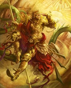 Monkey King by saryth on dA......Monkey King is a symbol of change from badness to goodness.
