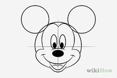 Dessiner Mickey / Draw Mickey Mouse