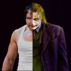 Dean Ambrose and joker edit