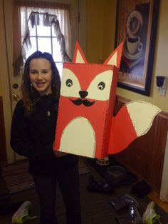 Fox valentines box