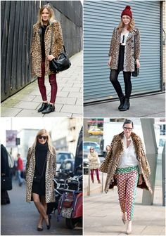 How To Wear: Leopard Coat
