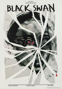 Marcelina Amelia, Black Swan (Directed by Darren Aronofsky), 2015, Size: B1