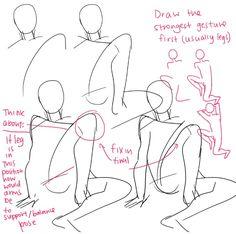 How draw body