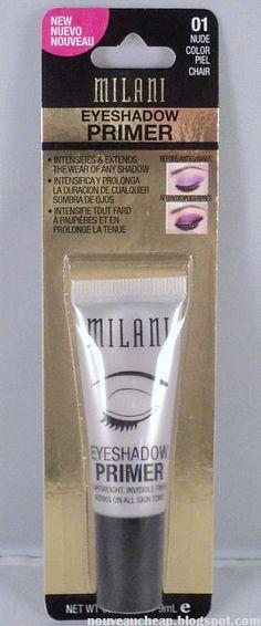 Review: Milani Eyeshadow Primer