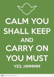 keep calm star wars