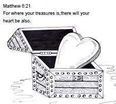 Treasures in Heaven Bible Lesson ~ Sunday School Ideas