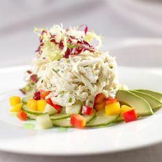 Gulf Blue Crab Salad with Mango, Cucumber and Avocado