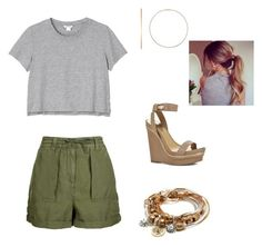 """""""Summer!"""" by jalen-jordan on Polyvore featuring Topshop, Monki, BCBGMAXAZRIA, Lizzy James and Ginette NY"""