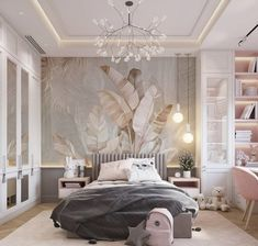New Home Designs                 25 + Your Dream Master Bedroom Designs Luxury Kids Bedroom, Dream Master Bedroom, Modern Bedroom Design, Master Bedroom Design, Girls Bedroom, Bedroom Designs, Dream Home Design, House Design, New Home Designs